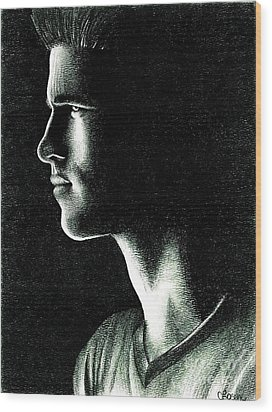 Gale Hawthorne Wood Print