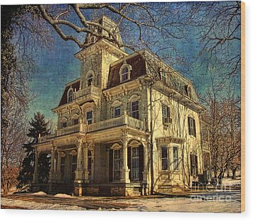 Gambrill Mansion Wood Print by Lianne Schneider