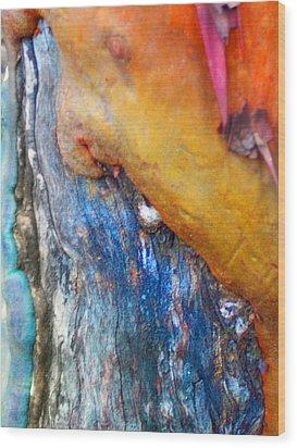 Wood Print featuring the digital art Ganesh by Richard Laeton