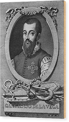 Garcilaso De La Vega 1503-1536 Spanish Wood Print by Everett