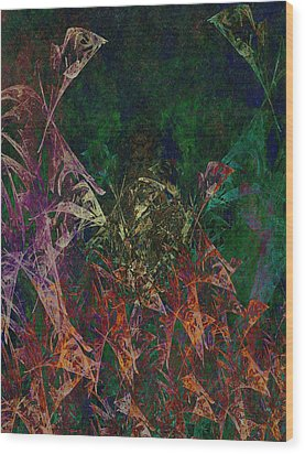 Garden Of Color Wood Print by Christopher Gaston