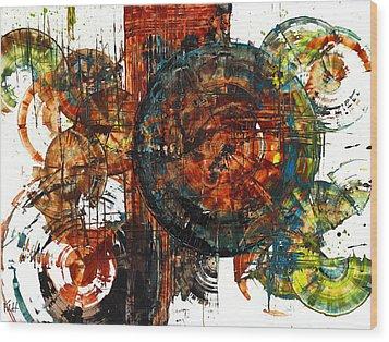 Gaurdian  02.101511 Wood Print