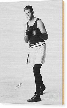Gene Tunney (1898-1978) Wood Print by Granger