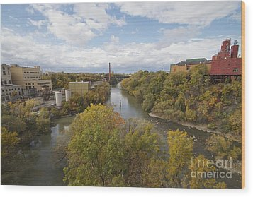 Wood Print featuring the photograph Genesee River by William Norton