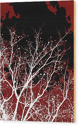 Genesis Wood Print by Glennis Siverson
