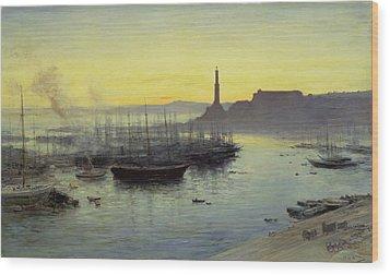 Genoa Wood Print by John MacWhirter