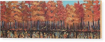 Gentle Autumn Breeze Wood Print by Tammy Watt