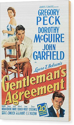 Gentlemans Agreement, Dorothy Mcguire Wood Print by Everett