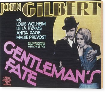 Gentlemans Fate, John Gilbert, Anita Wood Print by Everett