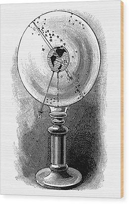 Geodoscope, 19th Century Wood Print by
