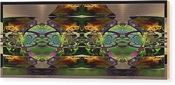 Wood Print featuring the photograph Geometrica by Robert Kernodle