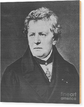 Georg Ohm, German Physicist Wood Print by Science Source