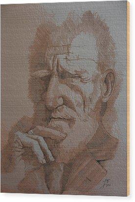George Bernard Shaw Wood Print by Ray Agius