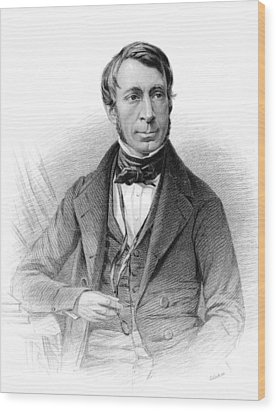 George Biddell Airy, British Astronomer Wood Print by