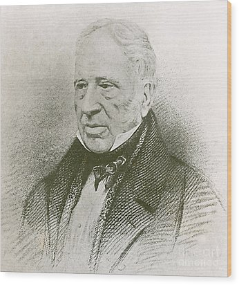 George Cayley, English Aviation Engineer Wood Print by Science Source