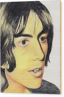 George Harrison Wood Print by Jayne Kennedy