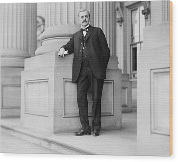 George W. Norris 1866-1944, Nebraska Wood Print by Everett