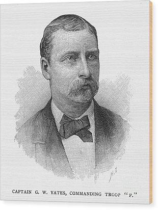 George W. Yates (d.1876) Wood Print by Granger