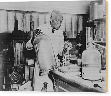 George Washington Carver 1864-1943 An Wood Print by Everett