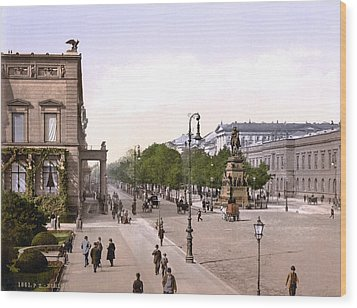 Germany, Unter Den Linden, Berlin Wood Print by Everett