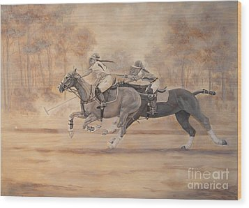 Ghost Riders Wood Print