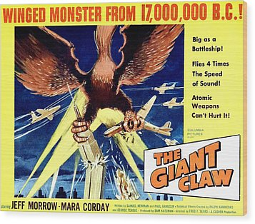 Giant Claw, The, 1957 Wood Print by Everett