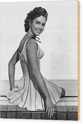 Give A Girl A Break, Debbie Reynolds Wood Print by Everett