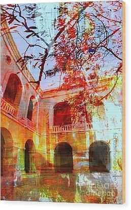 Give Me Room To Breathe Wood Print by Fania Simon