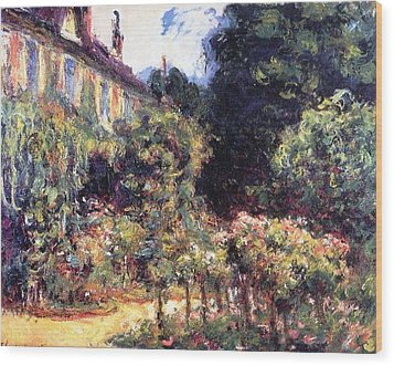 Giverny Wood Print by Claude Monet
