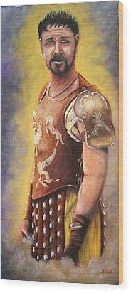 Gladiator  Wood Print