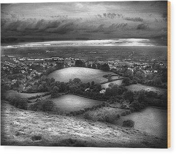 Glastonbury Wood Print by Mariusz Zawadzki