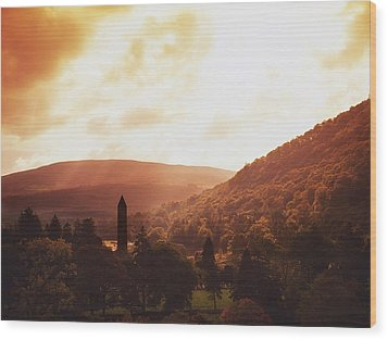 Glendalough, County Wicklow, Ireland Wood Print by The Irish Image Collection