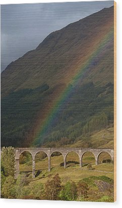 Glenfinnan Viaduct Wood Print by © Alexander W Helin