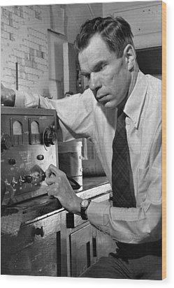 Glenn Seaborg 1912-1999, Won The 1951 Wood Print by Everett