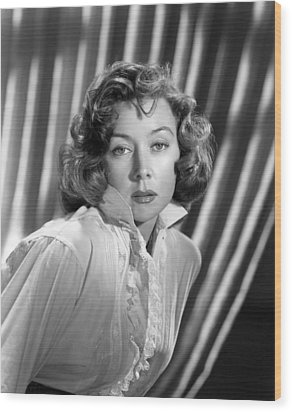 Gloria Grahame, Ca. Early 1950s Wood Print by Everett