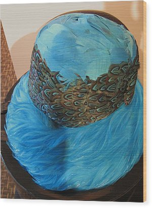 Gloria Wood Print by Todd Sherlock