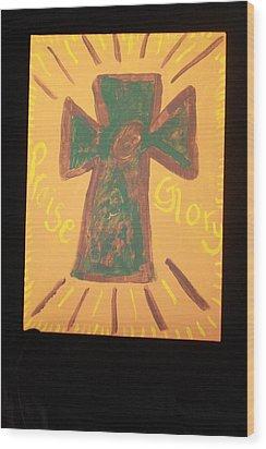 Glory Wood Print by Deborah Minch