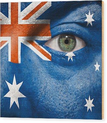 Go Australia Wood Print by Semmick Photo