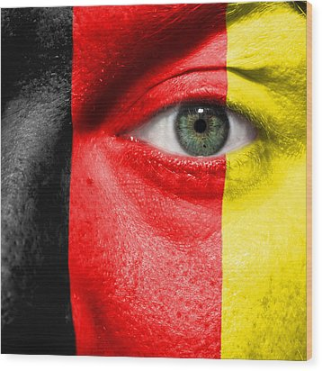 Go Belgium Wood Print by Semmick Photo