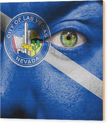 Go Las Vegas Wood Print by Semmick Photo