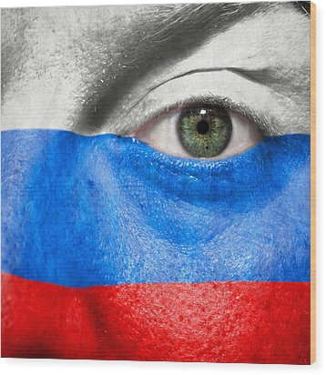 Go Russia Wood Print by Semmick Photo