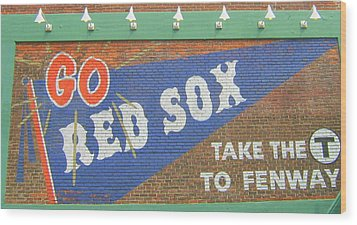 Go Sox Wood Print by Bruce Carpenter