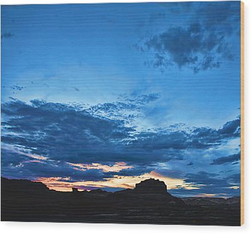 Goblin Valley Sunset Wood Print by Gregory Scott