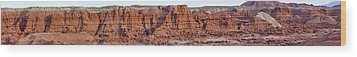 Goblin Valley With Only Goblins In Sight Wood Print by Gregory Scott