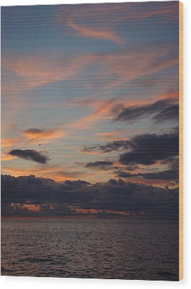 Wood Print featuring the photograph God's Evening Painting by Bonfire Photography