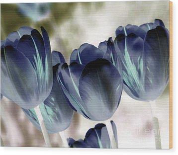 Going Blue Wood Print