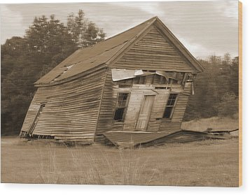 Going Down Wood Print by Mike McGlothlen