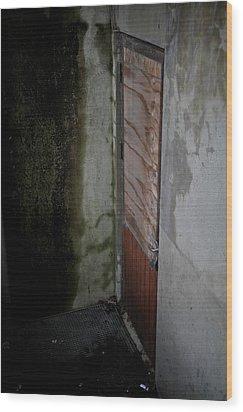 Going Down Wood Print by Odd Jeppesen