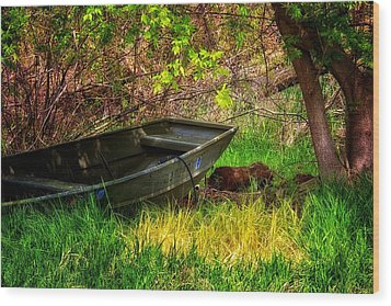 Wood Print featuring the photograph Going Fishing by Joe Urbz