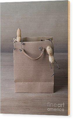 Going Shopping 02 Wood Print by Nailia Schwarz